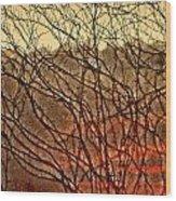 Hungry Vines Wood Print