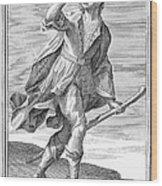Hunting Horn, 1723 Wood Print