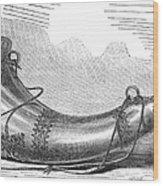 Hunting Horn, 1869 Wood Print
