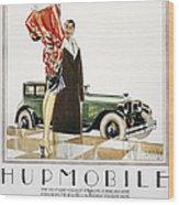 Hupmobile Ad, 1926 Wood Print