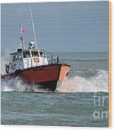 Huron Belle Pilot Boat Wood Print