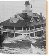 Hurricane Carol Wood Print