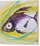 Hurricane Fish 7 Wood Print
