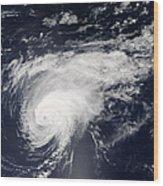 Hurricane Gordon Over The Atlantic Wood Print