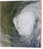 Hurricane Isaac Makes Its Second Wood Print