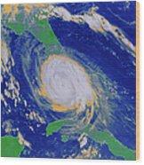 Hurricane Wood Print