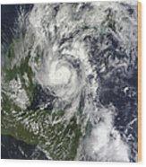 Hurricane Paula Wood Print