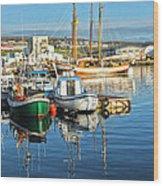 Husavik Iceland - 05 Wood Print