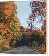 Hwy 68 North  Wood Print