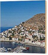 Hydra - Greece Wood Print