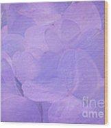 Hydrangea Whispers Wood Print