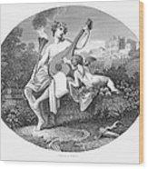 Hymen And Cupid Wood Print