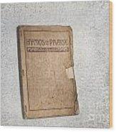 Hymnal Wood Print