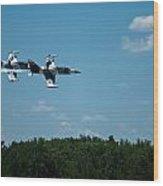 I 39 Fighter Jets Wood Print