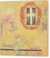 I Am Found Wood Print by Joanna Gates