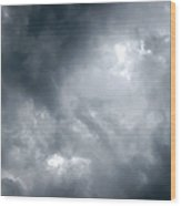 I Am No Storm Chaser Cloud Wood Print