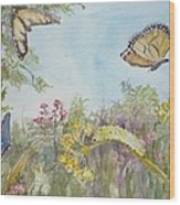 I Am Not A Worm Wood Print by Dorothy Herron