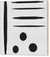 I Ching 4 Wood Print