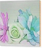 I Dream Of Flowers Wood Print