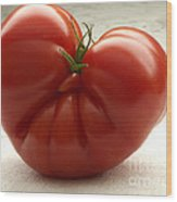 I Love Tomatoes Wood Print