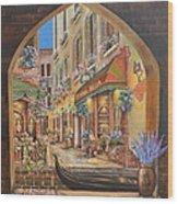I Love Venice Wood Print