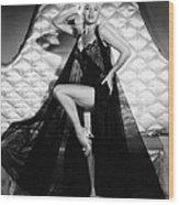 I Married A Woman, Diana Dors, 1958 Wood Print by Everett