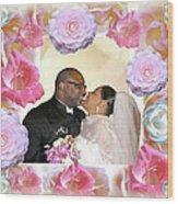 I Pronounce You Husband And Wife Wood Print