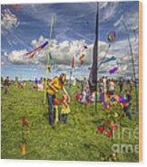 I Want That Kite Wood Print