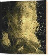 Ice Angel Wood Print