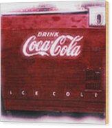 Ice Cold Coca Cola Wood Print