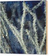 Ice Crystals - Abstract Wood Print