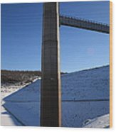 Ice Tower Catwalk 2 Wood Print