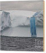 Iceberg Wood Print