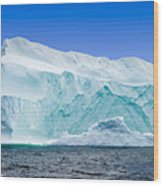 Iceberg Off The Newfoundland Coast Wood Print