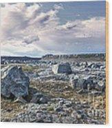 Iceland Barren Landscape - 02 Wood Print