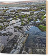 Iceland Godafoss Waterfall - 02 Wood Print