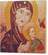 Icon Wood Print