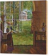 Iconic Reflections Wood Print