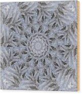 Icy Mandala 3 Wood Print