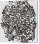 Idiomatic 160 Plus Wood Print