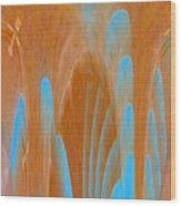 Idol Of Pomos Abstract Wood Print