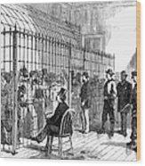 Illegal Voters, 1876 Wood Print
