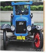 I'm Cute - 1922 Model T Ford Wood Print