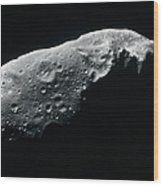 Image Of An Asteroid Wood Print
