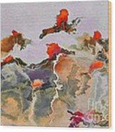 Imagine - F01v3bt2b Wood Print