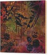 Imagining The Orient II Wood Print