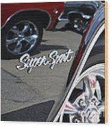 Impala Ss Wood Print