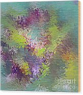 Impressionistic Abstract Wood Print
