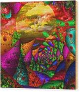 In My Dreams Wood Print