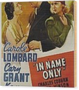 In Name Only, From Left Kay Francis Wood Print by Everett